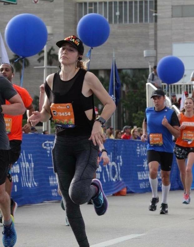 Margarita-Wells-2018-Miami-Marathon-Fitbit