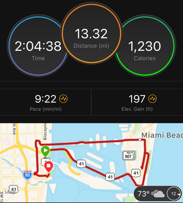 Margarita-Wells-January-28-2018-Miami-Half-Marathon-Stats