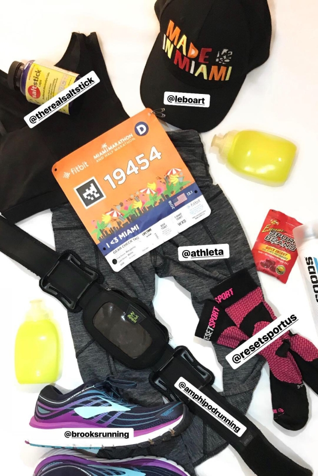 miami-marathon-running-gear-margarita-wells-salt-stick-amphipod-running-belt-brooks-running-shoes-reset-sport-kinesiology-socks.jpg