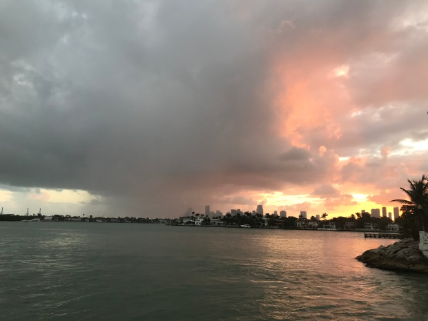 Margarita-Wells-Runs-Paris-Marathon-Training-Log-Venetian-Causeway-Sunset